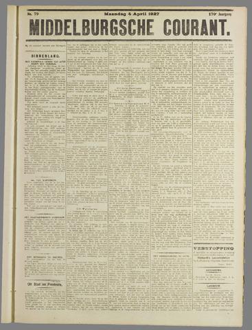 Middelburgsche Courant 1927-04-04