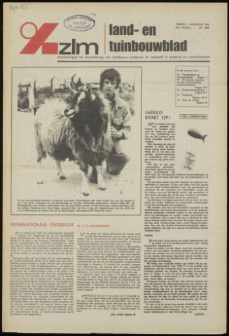 Zeeuwsch landbouwblad ... ZLM land- en tuinbouwblad 1975-08-01