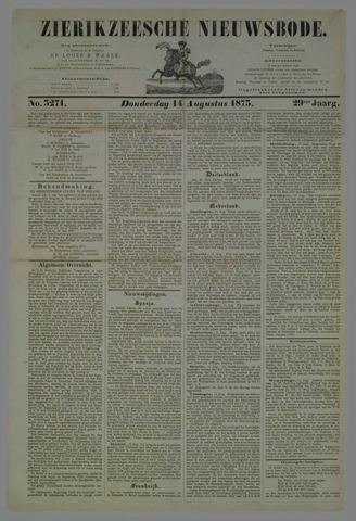 Zierikzeesche Nieuwsbode 1873-08-14