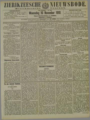 Zierikzeesche Nieuwsbode 1910-11-16