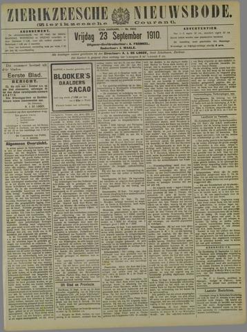 Zierikzeesche Nieuwsbode 1910-09-23