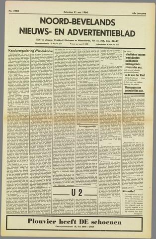 Noord-Bevelands Nieuws- en advertentieblad 1960-05-21