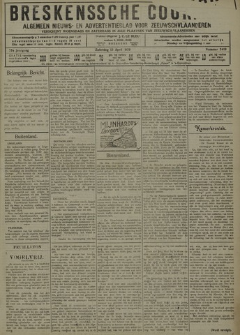 Breskensche Courant 1929-04-13