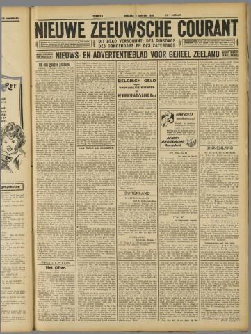 Nieuwe Zeeuwsche Courant 1929-01-08