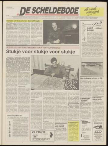 Scheldebode 1992-02-05