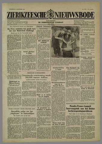 Zierikzeesche Nieuwsbode 1954-09-30
