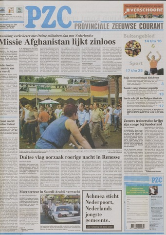 Provinciale Zeeuwse Courant 2004-06-01