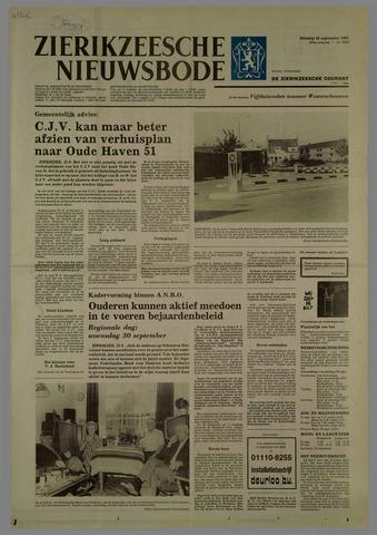 Zierikzeesche Nieuwsbode 1981-09-22