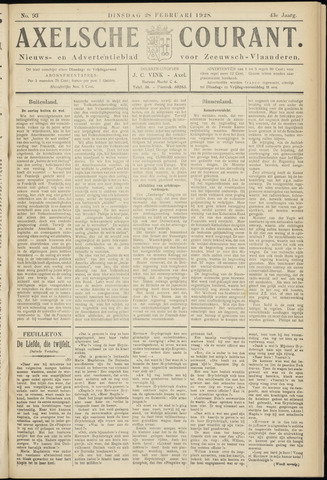 Axelsche Courant 1928-02-28