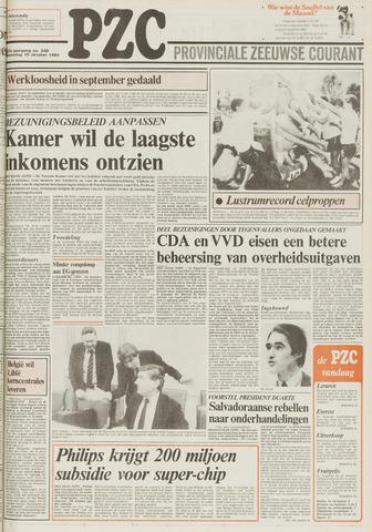 Provinciale Zeeuwse Courant 1984-10-10
