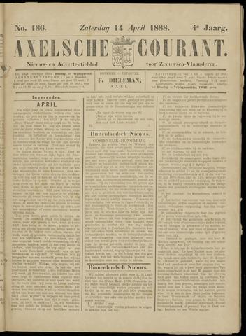 Axelsche Courant 1888-04-14