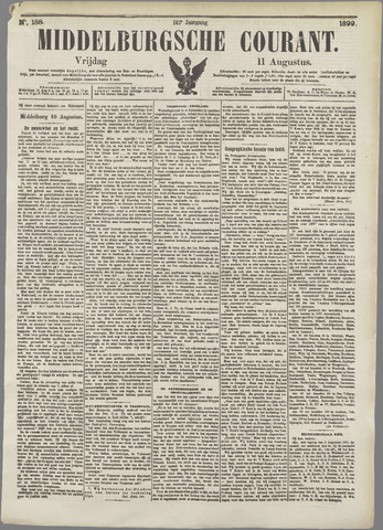 Middelburgsche Courant 1899-08-11