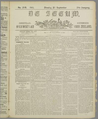 De Zeeuw. Christelijk-historisch nieuwsblad voor Zeeland 1910-09-20