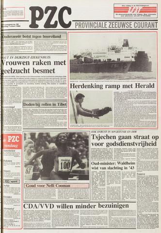 Provinciale Zeeuwse Courant 1988-03-07