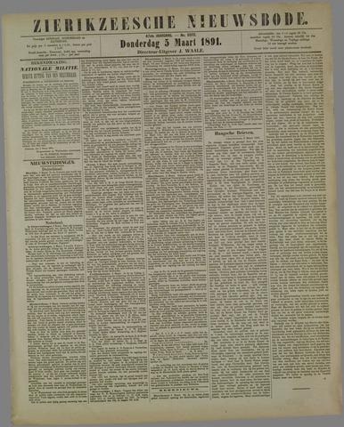 Zierikzeesche Nieuwsbode 1891-03-05