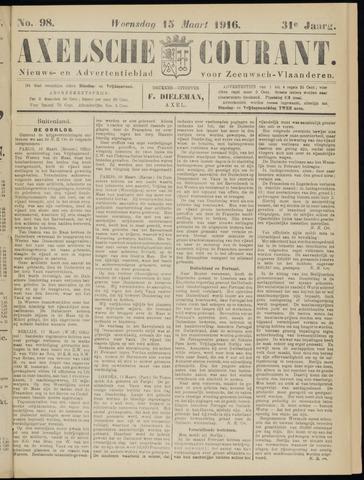 Axelsche Courant 1916-03-15