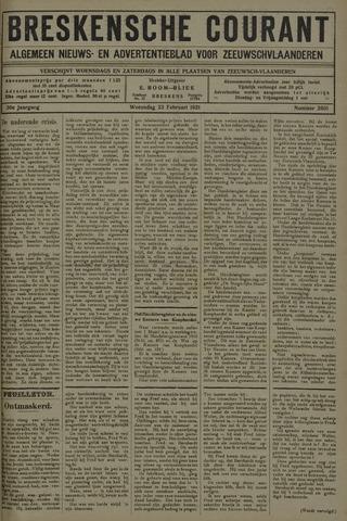 Breskensche Courant 1921-02-23