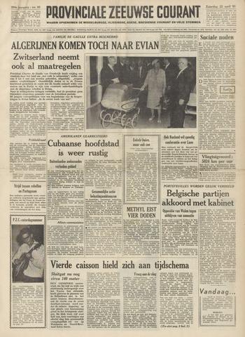 Provinciale Zeeuwse Courant 1961-04-22