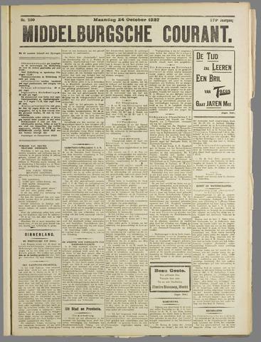 Middelburgsche Courant 1927-10-24