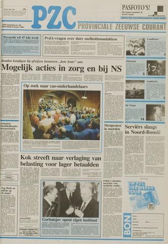 Provinciale Zeeuwse Courant 1992-03-04