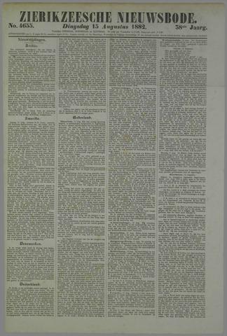 Zierikzeesche Nieuwsbode 1882-08-15