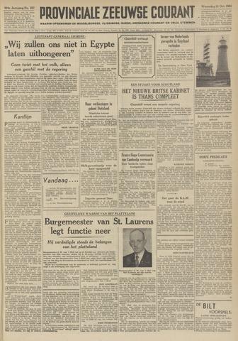 Provinciale Zeeuwse Courant 1951-10-31