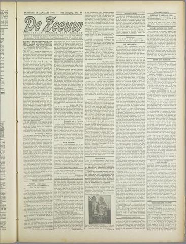 De Zeeuw. Christelijk-historisch nieuwsblad voor Zeeland 1944-01-25