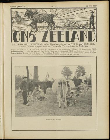 Ons Zeeland / Zeeuwsche editie 1929-06-22