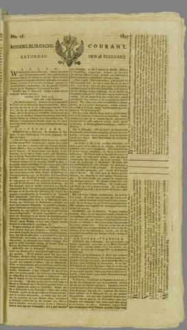 Middelburgsche Courant 1807-02-28