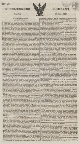 Middelburgsche Courant 1829-03-17
