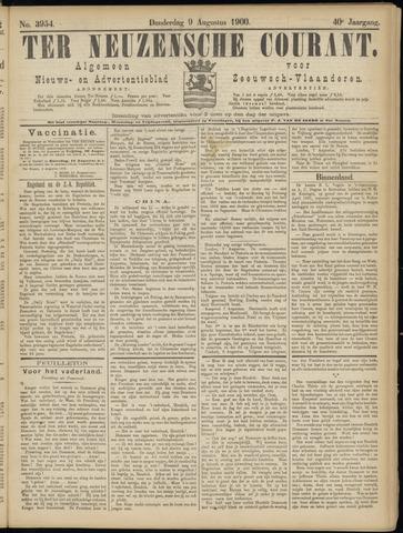 Ter Neuzensche Courant. Algemeen Nieuws- en Advertentieblad voor Zeeuwsch-Vlaanderen / Neuzensche Courant ... (idem) / (Algemeen) nieuws en advertentieblad voor Zeeuwsch-Vlaanderen 1900-08-09