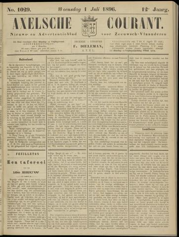 Axelsche Courant 1896-07-01