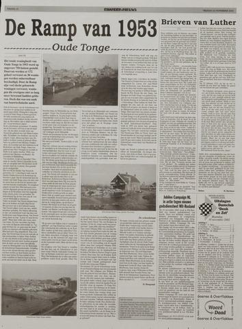 Watersnood documentatie 1953 - kranten 2002-11-22