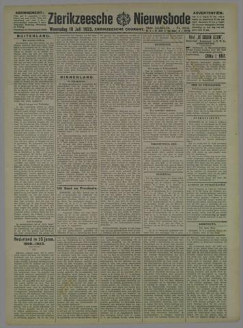 Zierikzeesche Nieuwsbode 1923-07-18