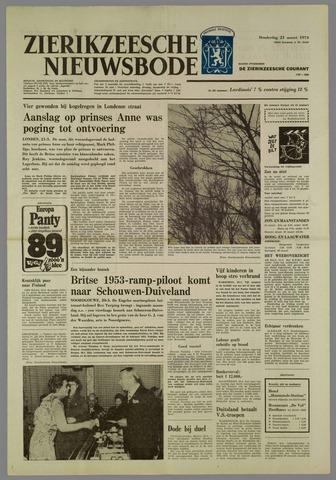 Zierikzeesche Nieuwsbode 1974-03-21