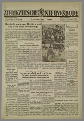 Zierikzeesche Nieuwsbode 1958-11-25