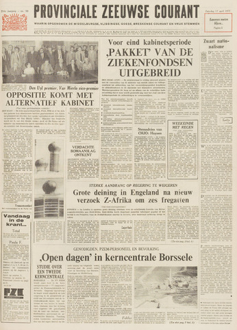 Provinciale Zeeuwse Courant 1971-04-17