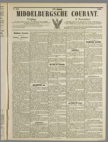 Middelburgsche Courant 1906-11-02