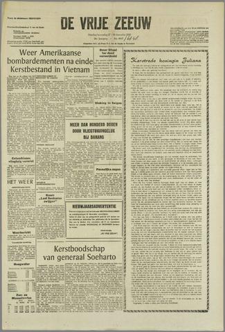 de Vrije Zeeuw 1966-12-27