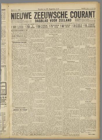 Nieuwe Zeeuwsche Courant 1922-08-24