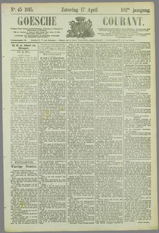 Goessche Courant 1915-04-17