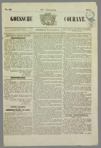 Goessche Courant 1855-08-02