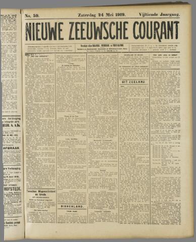 Nieuwe Zeeuwsche Courant 1919-05-24