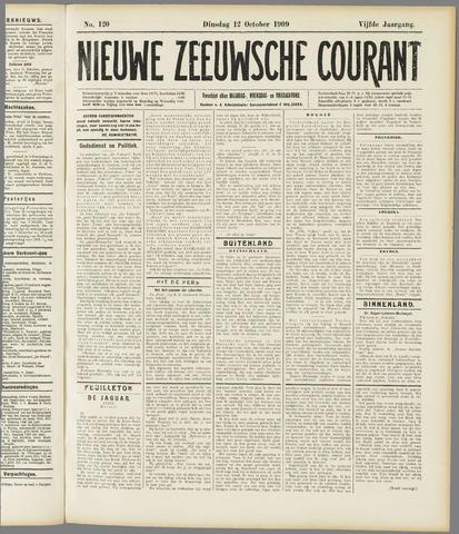 Nieuwe Zeeuwsche Courant 1909-10-12