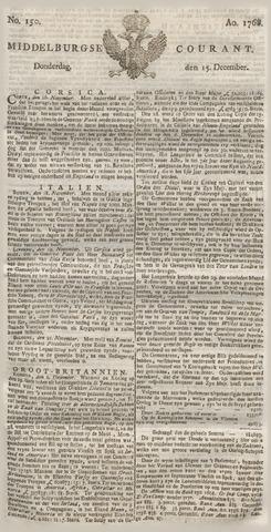 Middelburgsche Courant 1768-12-15
