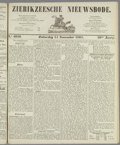 Zierikzeesche Nieuwsbode 1863-11-14