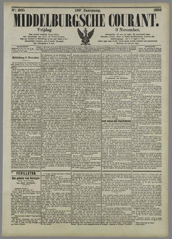 Middelburgsche Courant 1893-11-03
