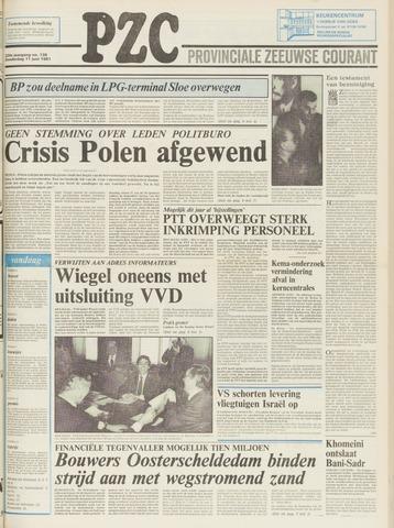 Provinciale Zeeuwse Courant 1981-06-11