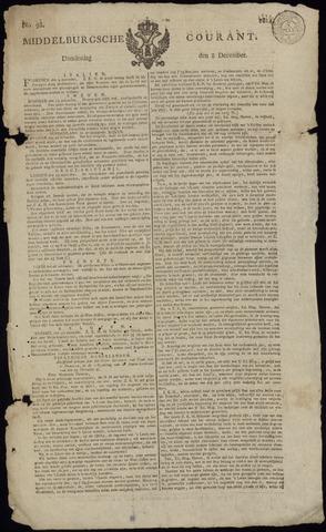 Middelburgsche Courant 1814-12-08