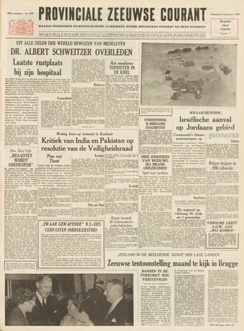 Provinciale Zeeuwse Courant 1965-09-06